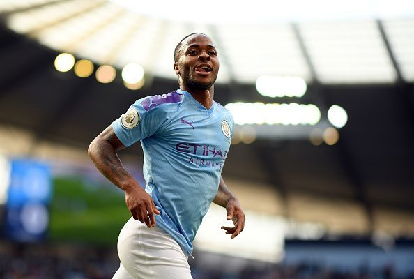 Raheem Sterling ran riot in the left-wing