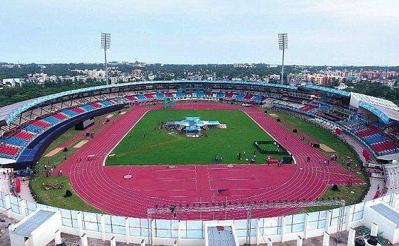 Kalinga Stadium has a capacity of 15,000