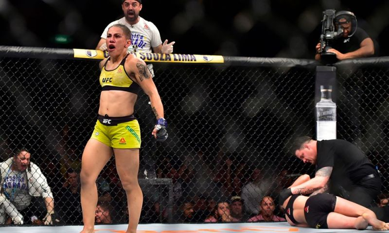 Andrade took her title from Rose Namajunas in May