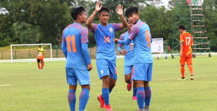 India beat Bhutan by seven goals