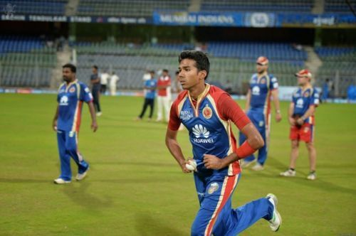 Sandeep Warrier has been a part of Royal Challengers Bangalore in the past