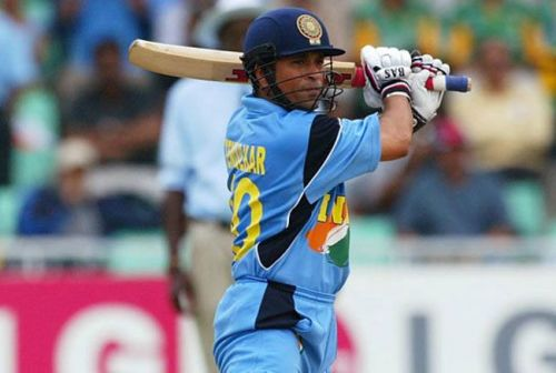 Sachin Tendulkar was in the form of his life during the 2003 World Cup