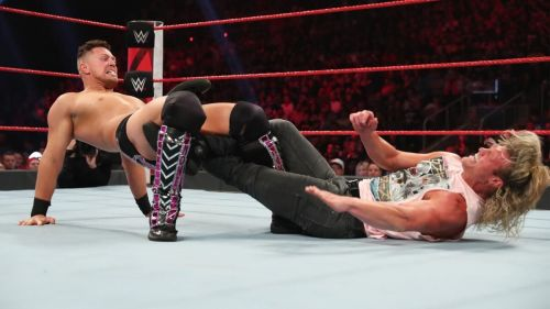 Dolph Ziggler just isn't having any luck at present