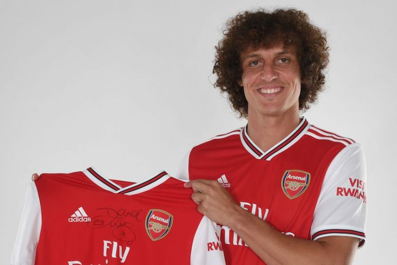David Luiz has joined Arsenal from Chelsea this summer