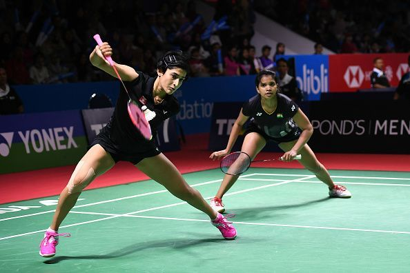 Ashwini Ponnappa (left) and Sikki Reddy