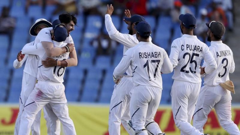 Image result for india 2nd test west indies 2019