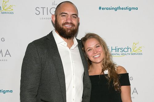 Rousey with Browne