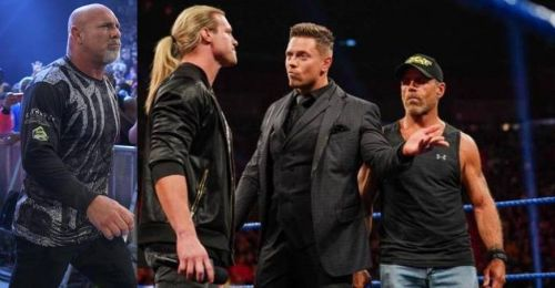 Dolph Ziggler (second from left) seems primed to make a huge impact at WWE SummerSlam 2019