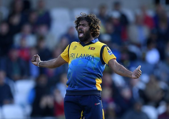 Lasith Malinga picked a wicket on his final delivery.