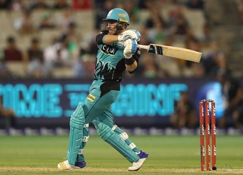 Brendon McCullum played for the Brisbane Heat in the Big Bash League earlier this year
