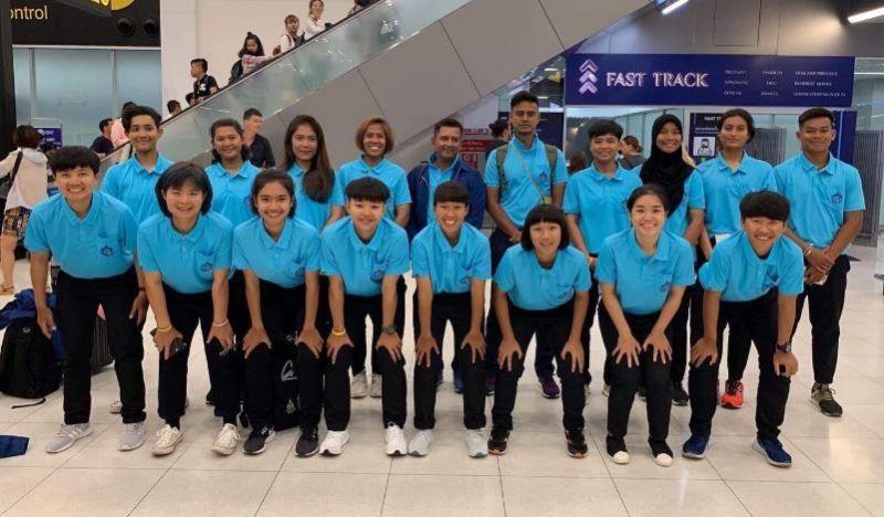 थाइलैंड की टीम
