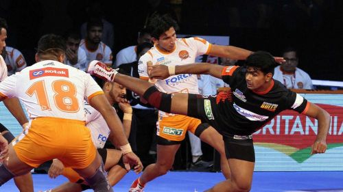 Pawan Sehrawat would look to complete a century of raid points this season