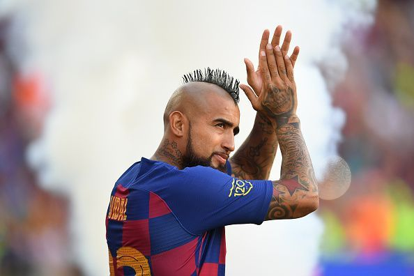 Vidal came off the bench and impressed