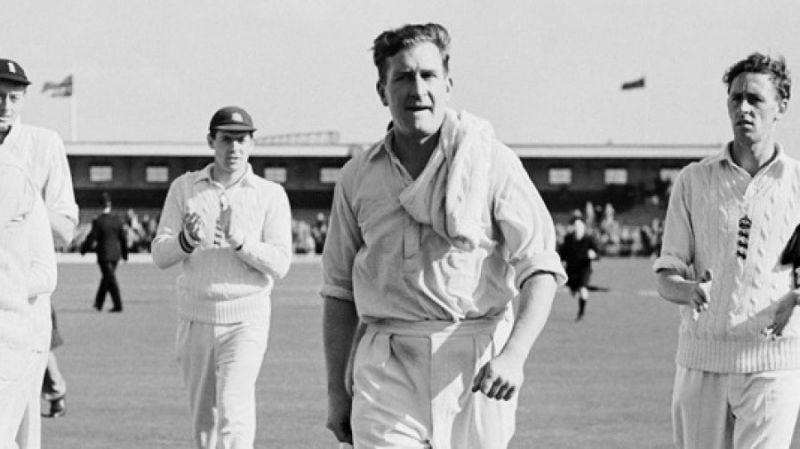 Jim Laker picked up an astounding 19 wickets in a match for England in Ashes 1956