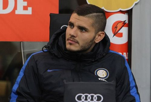 Star striker Mauro Icardi has been a thorn in the flesh for the Nerazzurri since December.