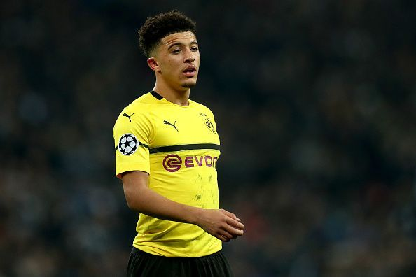 Jadon Sancho stole the show for Borussia Dortmund