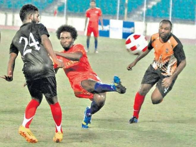 Orok Orok Essien has played in the 2013-14 I-League for Mumbai FC