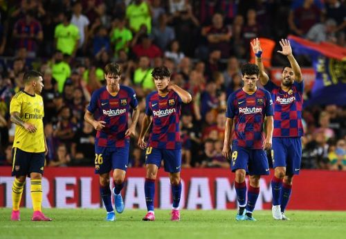 A lot of Barcelona players impressed