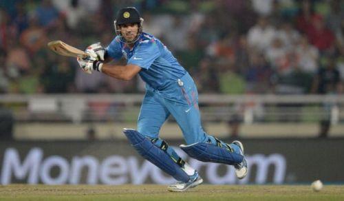Yuvraj Singh at the 2014 World T20