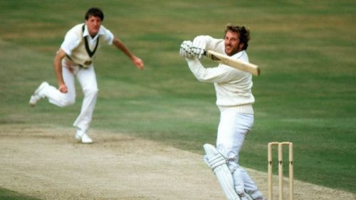 It was one of those rare occasions when his teammates stole the limelight from Ian Botham
