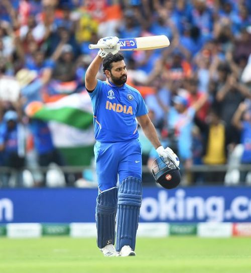Rohit Sharma was adjudged the player of the tournament in ICC World Cup 2019 for a fine batting display.