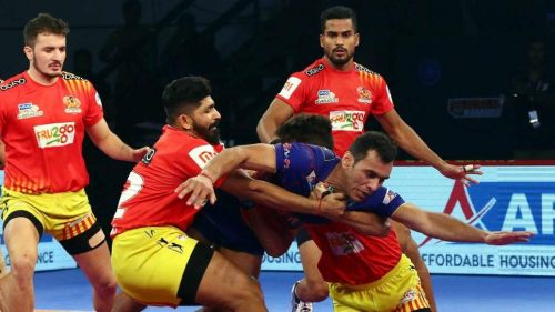 Dabang Delhi K.C. had defeated Gujarat Fortune Giants the last time these two teams met
