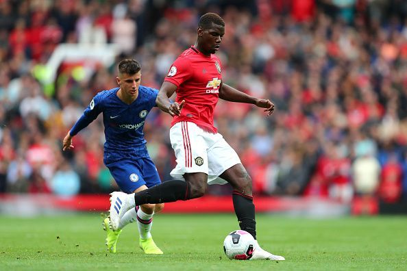 Pogba dominated proceedings in midfield as United ran riot