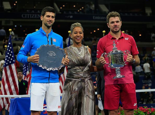 Djokovic (left) and Wawrinka are all set to clash again 3 years after their last meeting