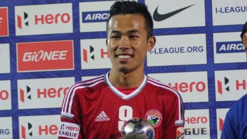Samuel Lalmuanpuia was named the Emerging Player of the I-League 2017-18. Image: AIFF