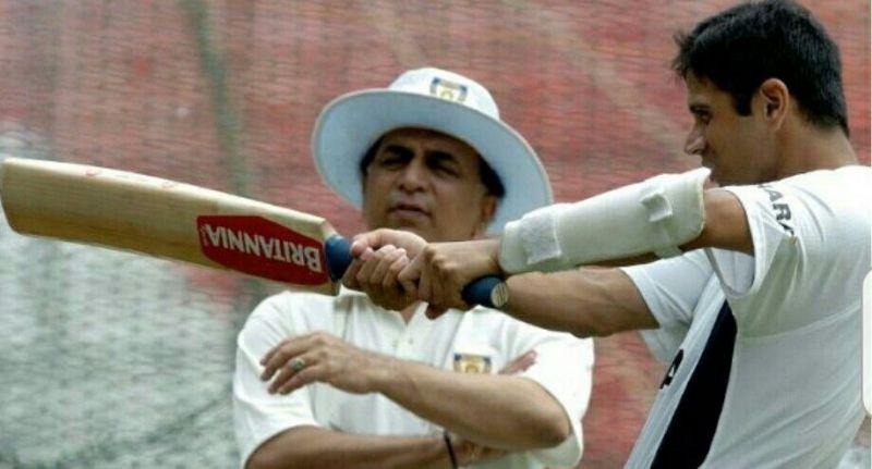 Sunil Gavaskar & Rahul Dravid