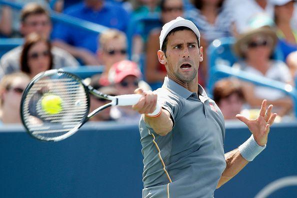Novak Djokovic will be looking to claim a comfortable win