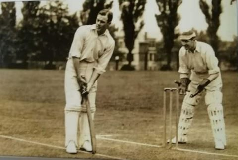 Warren Bardsley became the first batsman to score two centuries in a single Ashes Test match