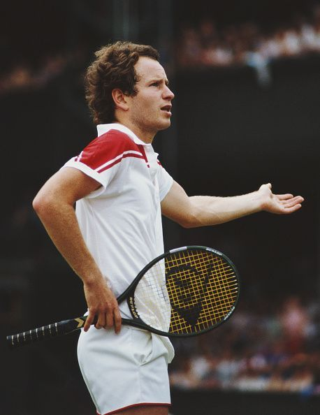 John McEnroe during one of his infamous tirades