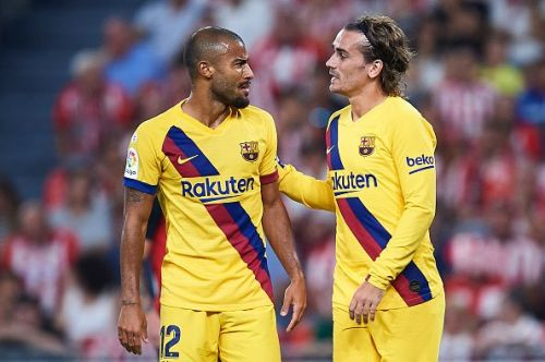 Barcelona seemed genuinely chunky and immobile in build-up