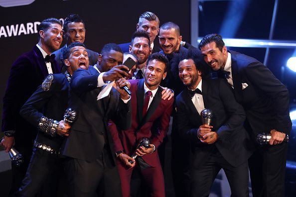 Marcelo, Kroos, Ramos, and Ronaldo all made The Best FIFA Football Awards shortlist in 2017