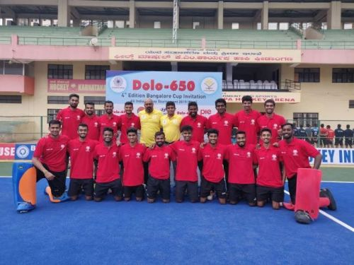 The Karnataka Hockey team
