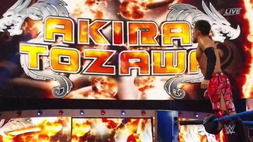 Akira Tozawa kicked off this week's edition of 205 Live