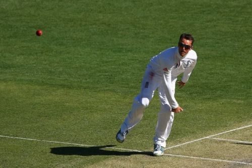 Graeme Swann had a beautiful bowling action