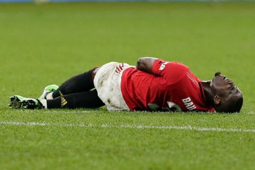 Eric Bailly is out with an injury.
