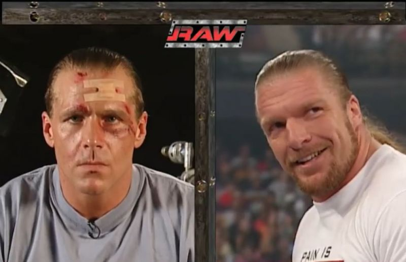 Triple H revealed as the mystery attacker