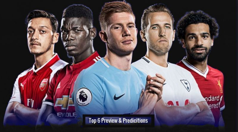 Who will finish in the top six this season?