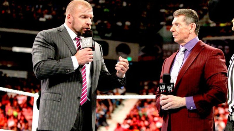 Triple H and Vince
