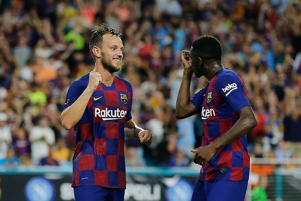 Ivan Rakitic might not be at Barcelona beyond the summer