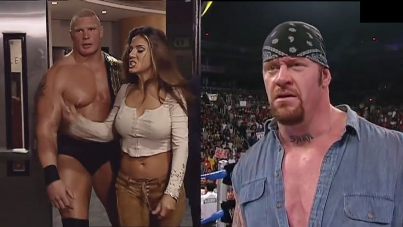 Brock, Tracy, and Undertaker