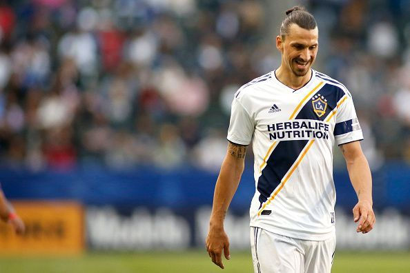Zlatan Ibrahimovic is one of three designated players at LA Galaxy