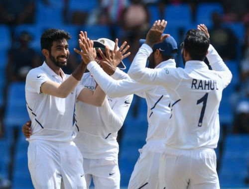 Jasprit Bumrah Takes sensation 5 Wickets haul against windies