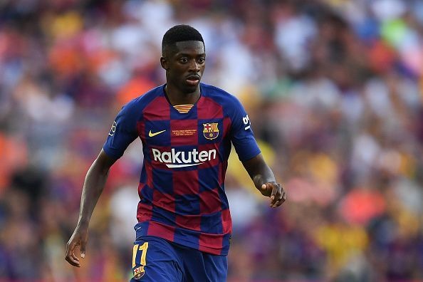 Ousmane Dembele had a electrifying cameo for his club