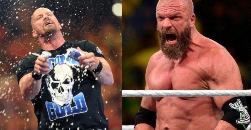 Austin and Triple H