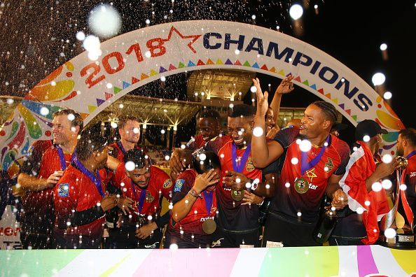 Trinbago Knight Riders v Guyana Amazon Warriors - 2018 Hero Caribbean Premier League Tournament Final