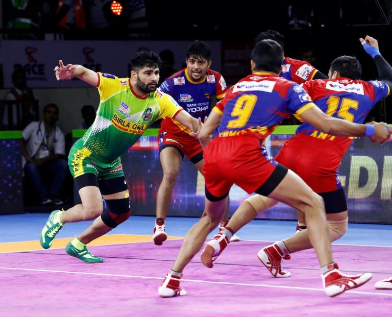 Can Pardeep breach the U Mumba defense?